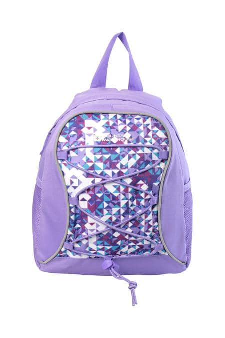 Purple childs ruck sack