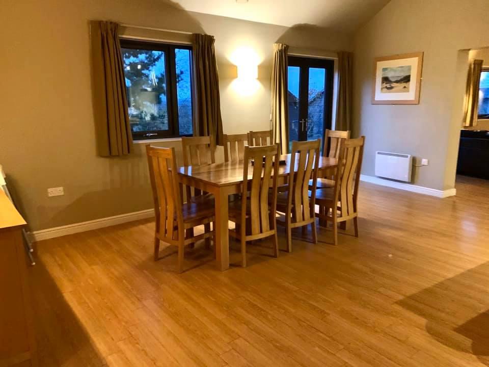 Dina's dining room at Bluestone