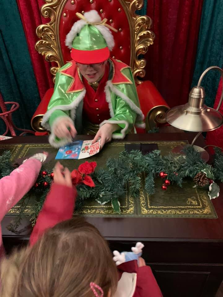 Kingdom of the Elves at Bluestone - Passport control