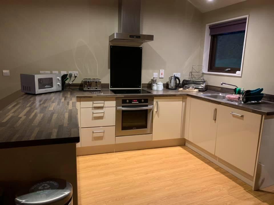 Dina's kitchen at Bluestone