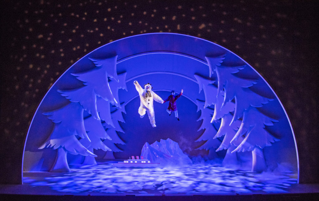REVIEW: The Snowman Peacock Theatre London