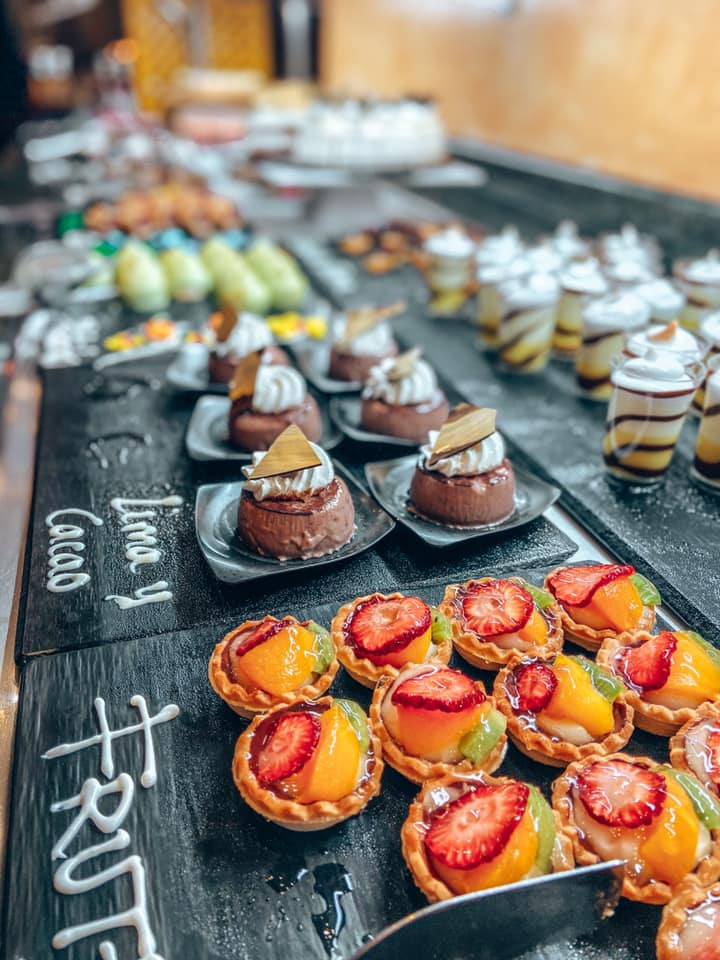 Dessert at the Princesa Yaiza
