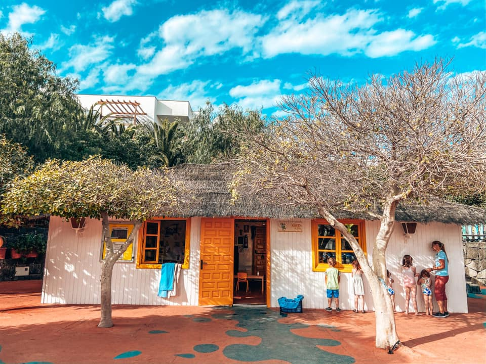 Pre school hut at Kikoland Kids Club in the Princesa Hotel