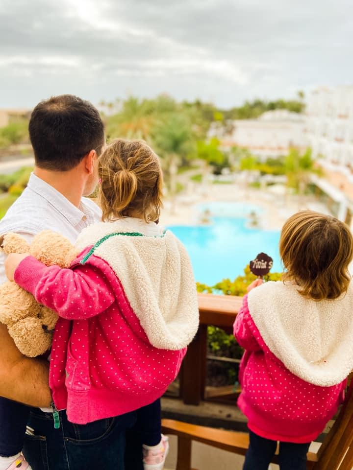 View from the Balcony in Princesa Yaiza