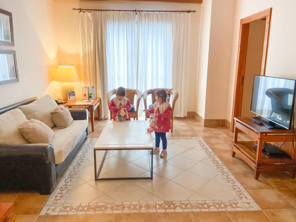 living room in the royal princesa yaiza
