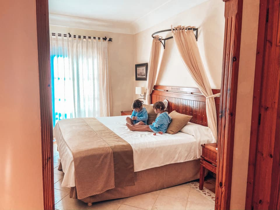 Main double bedroom at the Princesa Yaiza