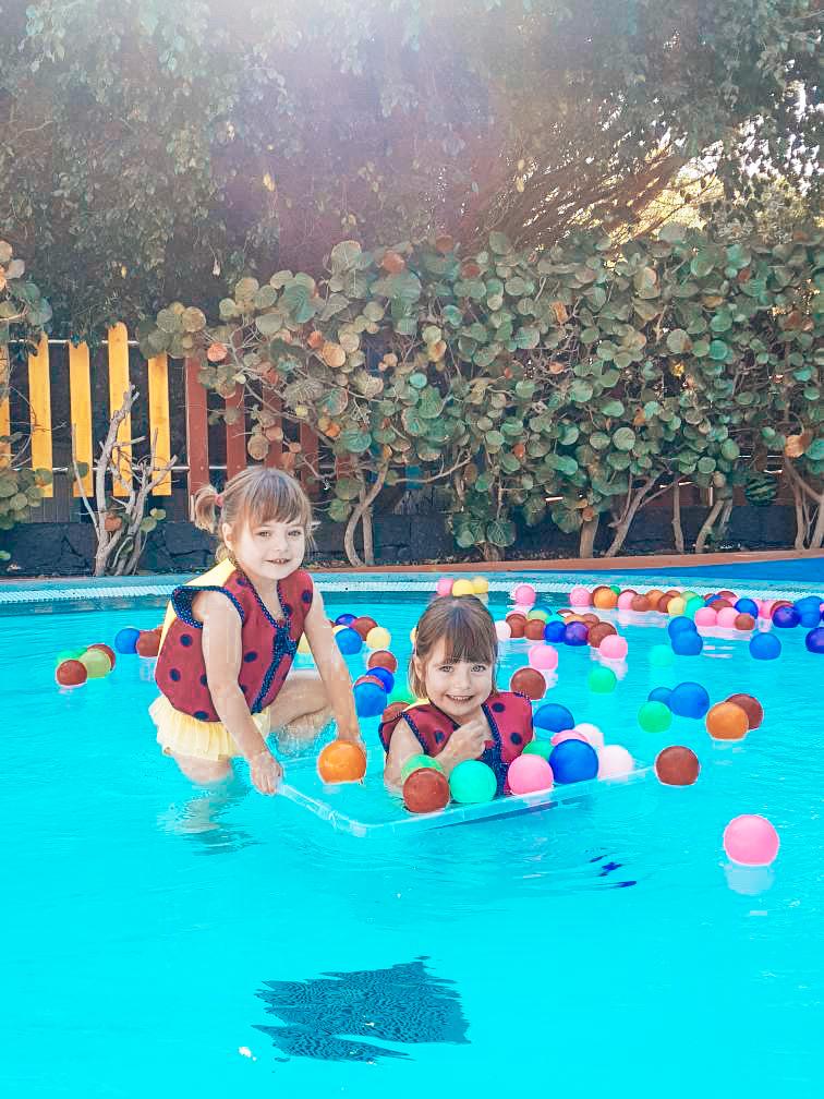 splash pool at Kikoland Kids Club in the Princesa Hotel