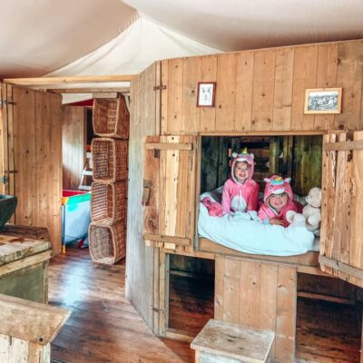 TRAVEL REVIEW: Glamping at Layer Marney Tower with Feather Down