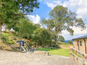 Penlan Lodges play area