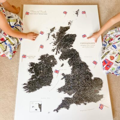 Trip Map – UK and Ireland Map Pin Board