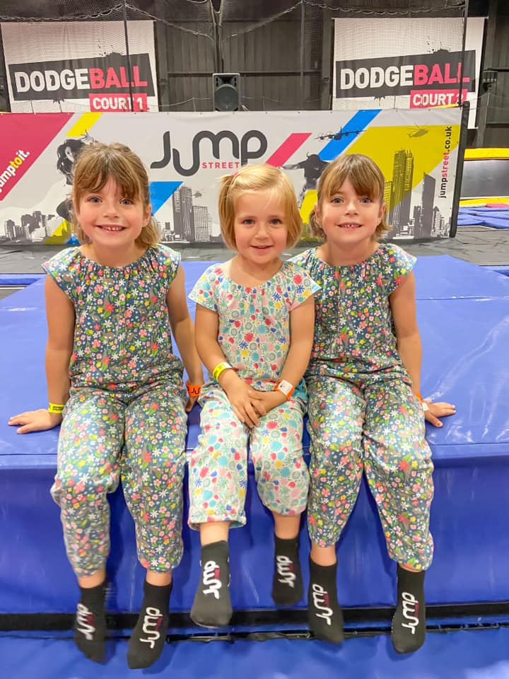three girls posing for a photo at jump street - days out in essex