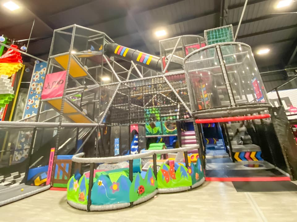Kendricks soft play at Jump Street - days out in essex