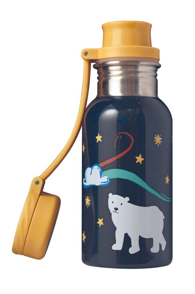 Frugi drinks bottle with polar bears on