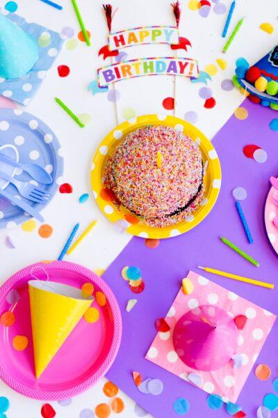 6th birthday flatlay